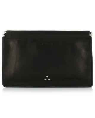 Clic Clac L grained leather clutch JEROME DREYFUSS