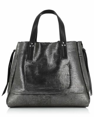 Shopper aus Metallic-Leder Georges M JEROME DREYFUSS