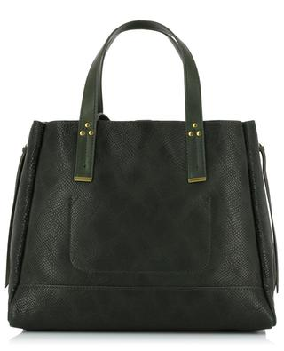 Georges M embossed leather tote bag JEROME DREYFUSS