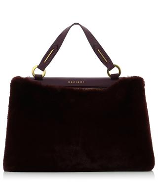 Kate leather and faux fur bag ORCIANI
