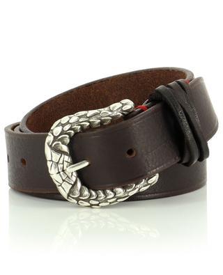 Leather belt ELEVENTY