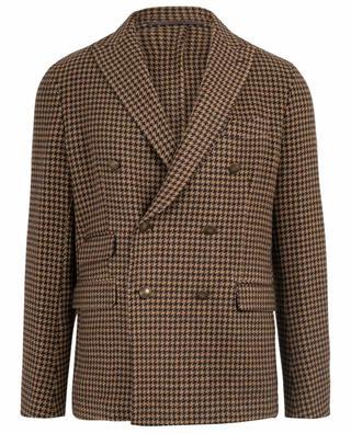 Long blazer en laine mélangée ELEVENTY