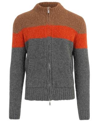 Cashmere, alpaca and silk blend cardigan ELEVENTY