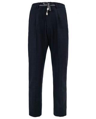 Wool blend trousers ELEVENTY