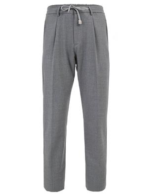 Pantalon en laine mélangée ELEVENTY