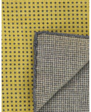 Wool and cotton blend pocket square ELEVENTY
