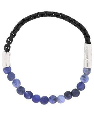 Coco stone and silver beads bracelet Medium TATEOSSIAN
