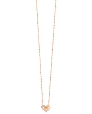 Angie delicate pink gold necklace VANRYCKE