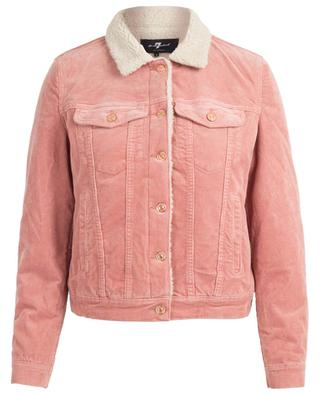 Blouson en velours côtelé Modern Trucker 7 FOR ALL MANKIND