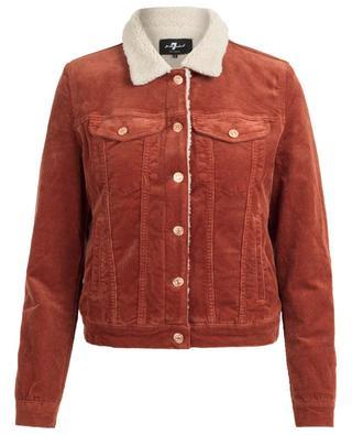 Modern Trucker corduroy jacket 7 FOR ALL MANKIND