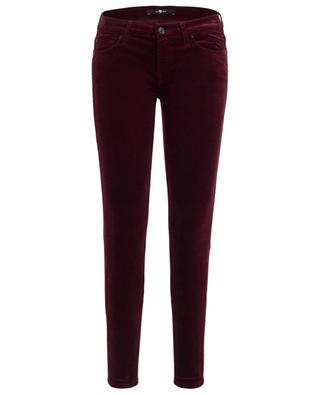 Hose aus Samt The Skinny 7 FOR ALL MANKIND