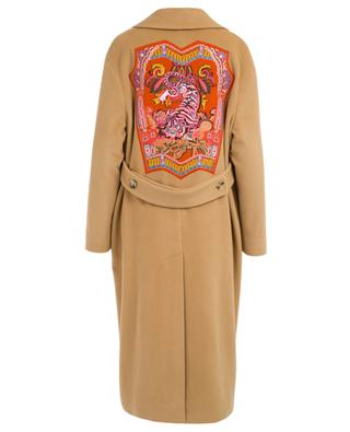 Wool and cashmere blend coat ETRO