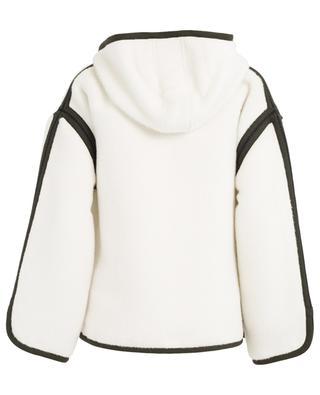 Veste zippée en alpaga et laine ETRO