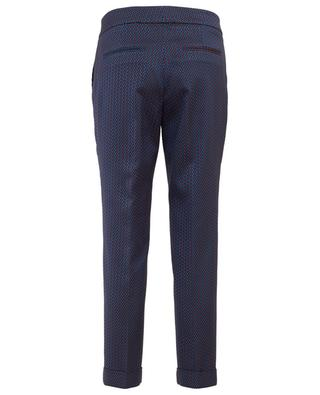 Cropped viscose blend trousers ETRO