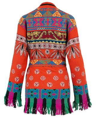 Cardigan jacquard long ETRO