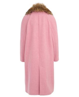 Embroideres oversize wool coat BAZAR DELUXE