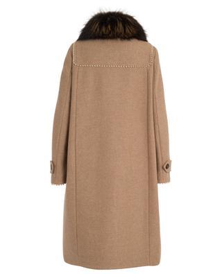 Wool and fur coat BAZAR DELUXE