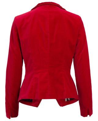 Velvet suit jacket BAZAR DELUXE