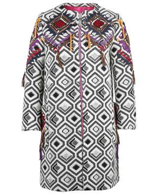 Manteau en coton et laine vierge mélangés BAZAR DELUXE