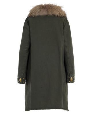 2-in-1 fur embellished parka BAZAR DELUXE