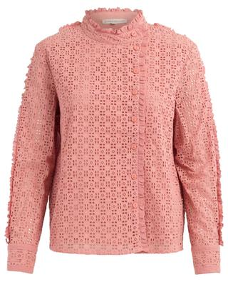 Fontana openwork cotton blouse PAUL & JOE SISTER
