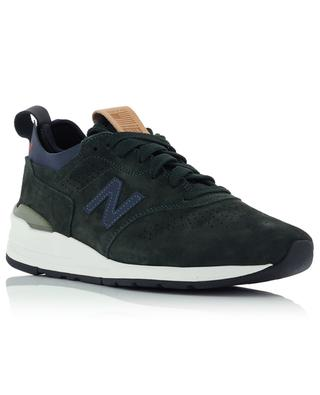 Leather and textile sneakers NEW BALANCE