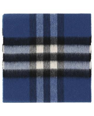 The Mini Classic Check cashmere scarf BURBERRY