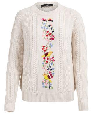 Bestickter Pullover aus Schurwolle Rodi WEEKEND MAXMARA