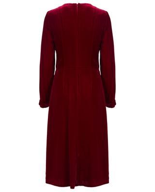 Mittellanges Kleid aus Samt AKRIS PUNTO