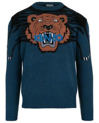 Claw Tiger jacquard jumper KENZO