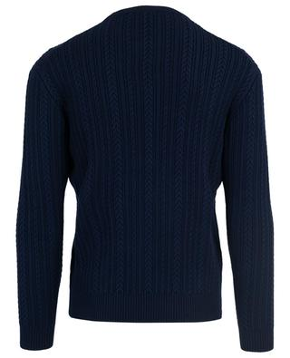 Tiger cable knit wool blend jumper KENZO