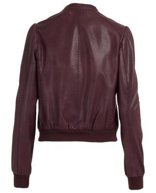Vintage style leather jacket MARC CAIN