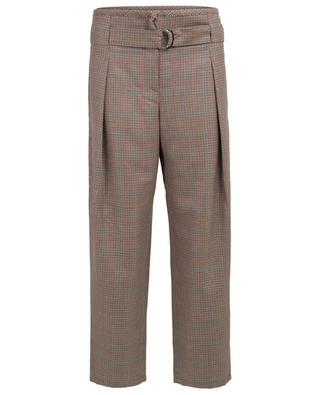 Pantalon large raccourci en laine vierge MARC CAIN