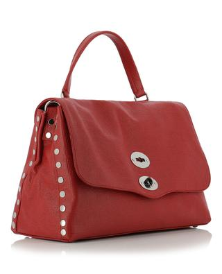 Postina M Curturo textured leather bag ZANELLATO
