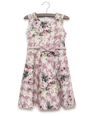 Printed sleeveless dress MONNALISA