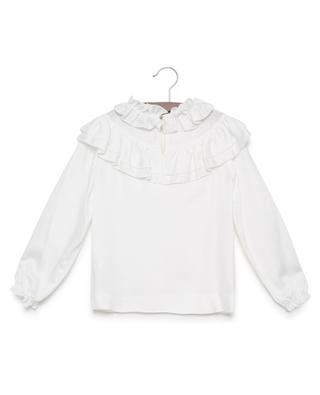 Bestickte Bluse aus Viskose MONNALISA
