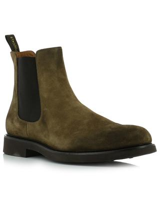 Point suede ankle boots DOUCAL'S SRL