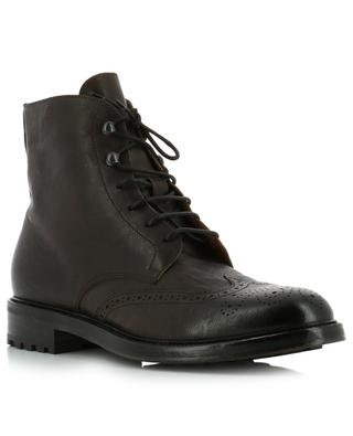Balm leather lace-up ankle boots DOUCAL'S