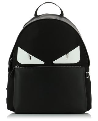 Bag Bugs leather and nylon backpack FENDI
