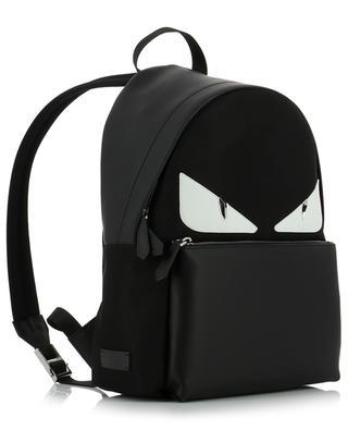 Rucksack aus Leder und Nylon Bag Bugs FENDI