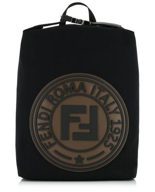 Fendi Stamp canvas backpack FENDI