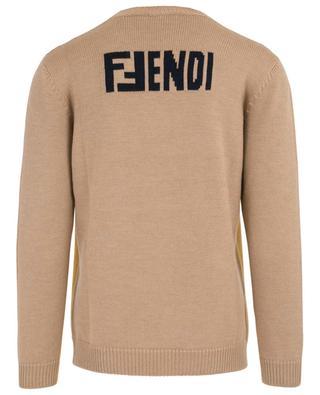 Virgin wool jumper FENDI