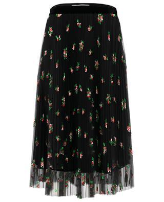 Embroidered tulle midi-length skirt PHILOSOPHY