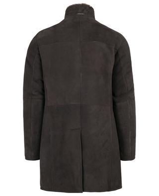 Mantel aus Wildleder und Lammfell GIMO'S
