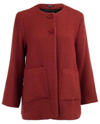 Leichter Mantel aus Wollmix Carmen TOUPY