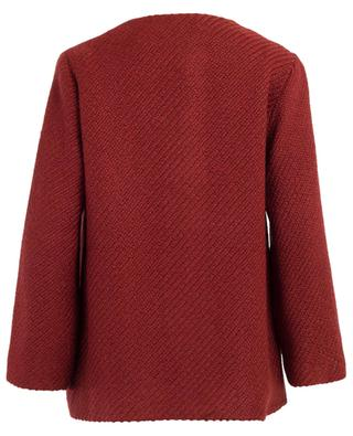 Carmen light wool blend coat TOUPY