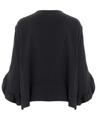 Rihanna silk blouse TOUPY