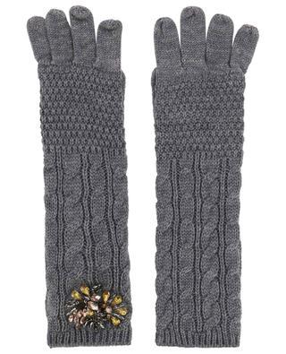 Zopfstrick-Handschuhe TWINSET