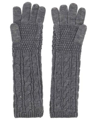 Cableknit gloves TWINSET