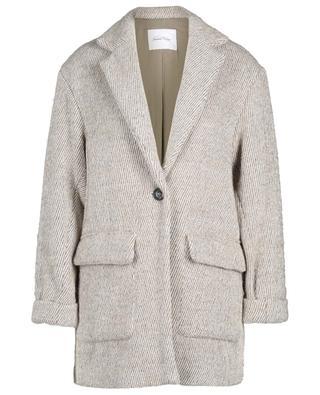 Topitown single-breasted wool blend coat AMERICAN VINTAGE